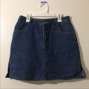 Dresses & Skirts - Denim Skort